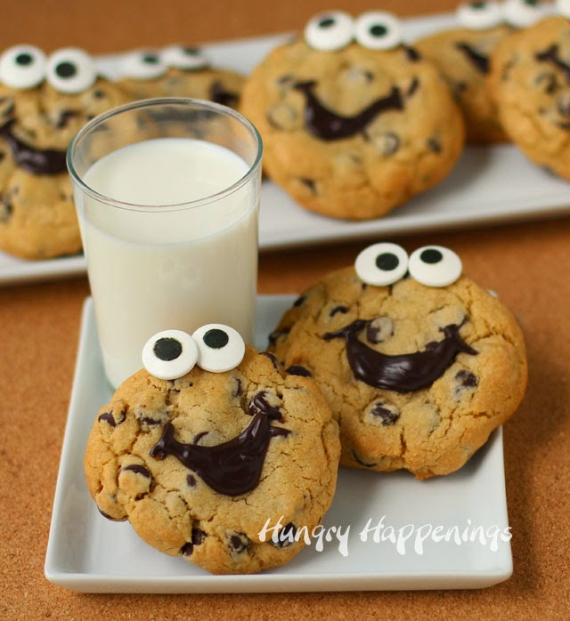 Decorated Chocolate Chip Cookies