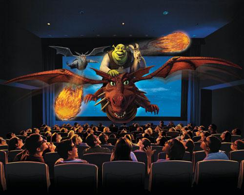 Filmes em 3d será que faz toda a diferença