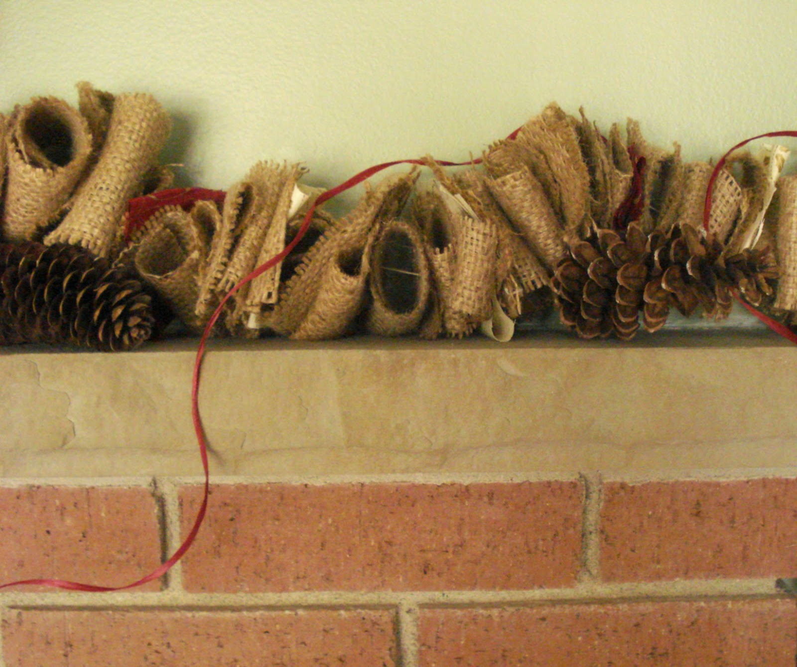 Lina and Vi Holiday Collection - Burlap Garland