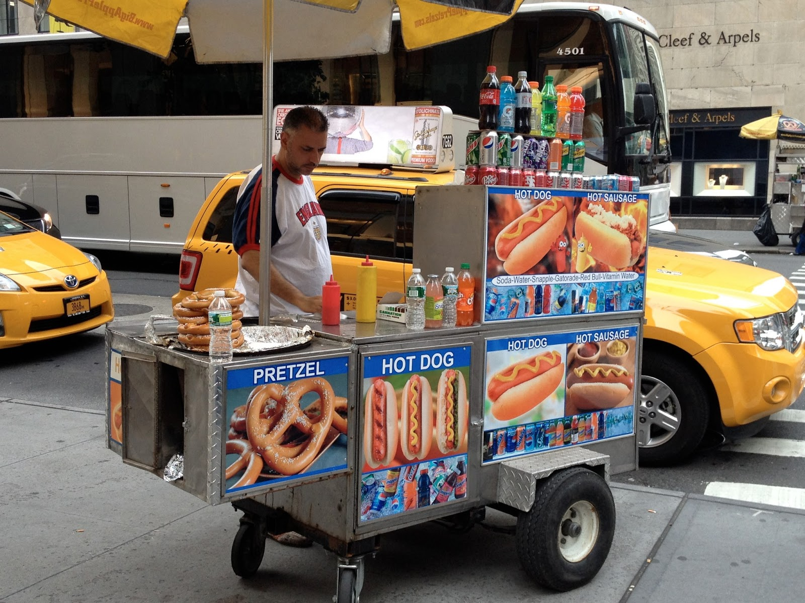 How Many Hot Dog Vendors In Nyc