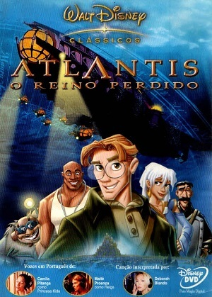 Filme Atlantis - O Reino Perdido Blu-Ray 2001 Torrent