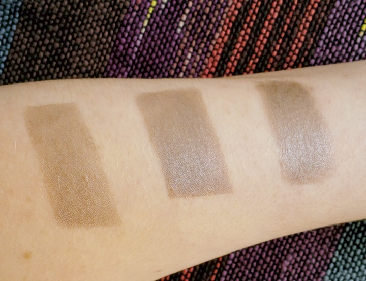 Etude House Proof 10 Eye Primer swatches