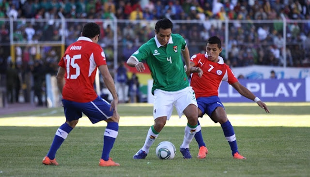 Chile vs Bolivia en vivo