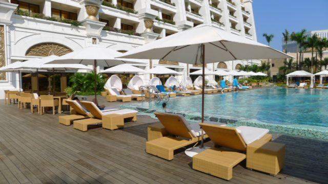 The Island Explorer The Grand Resort Deck At Galaxy Macau