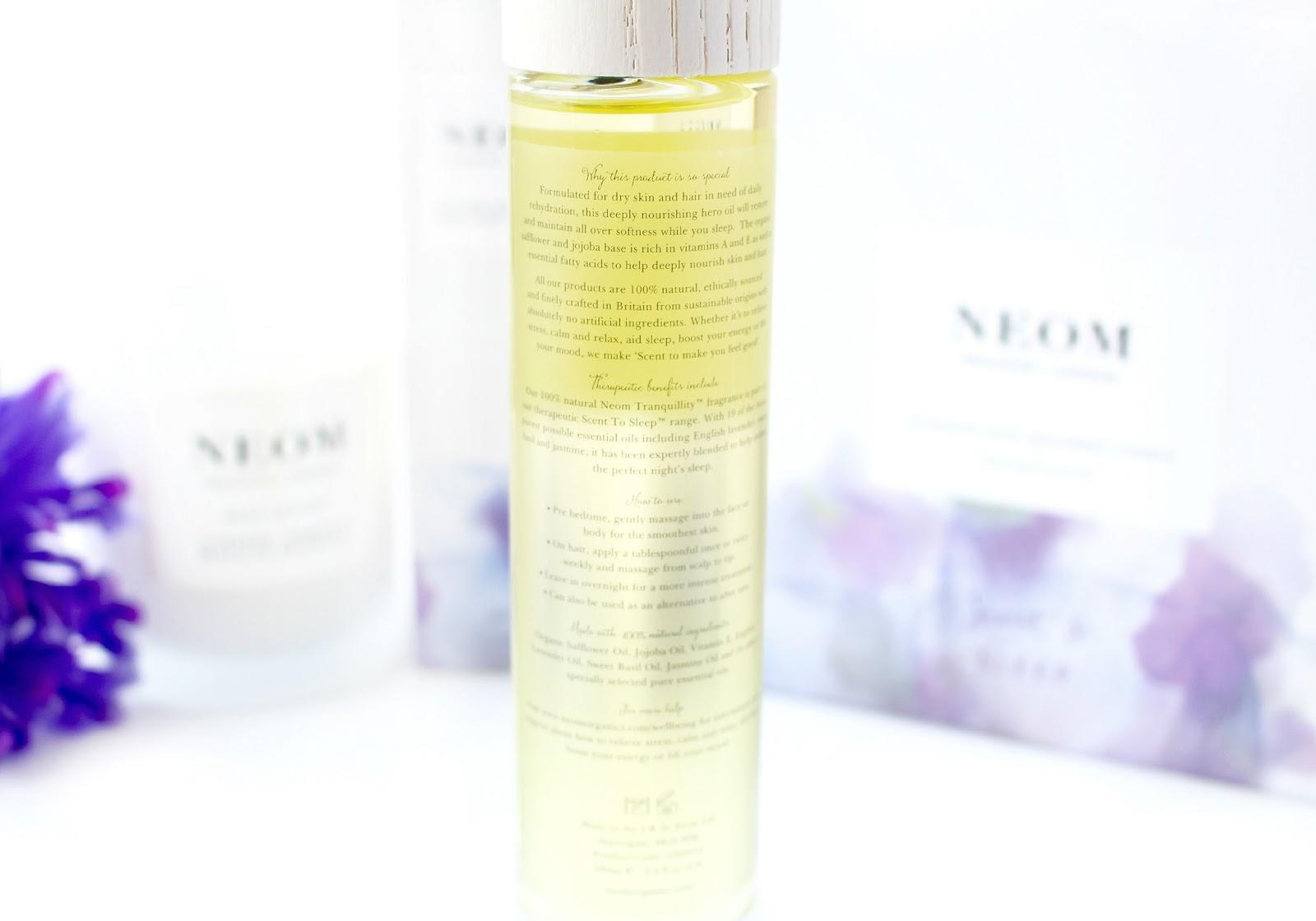 NEOM Intense Night Repair Face, Body & Hair Oil Review
