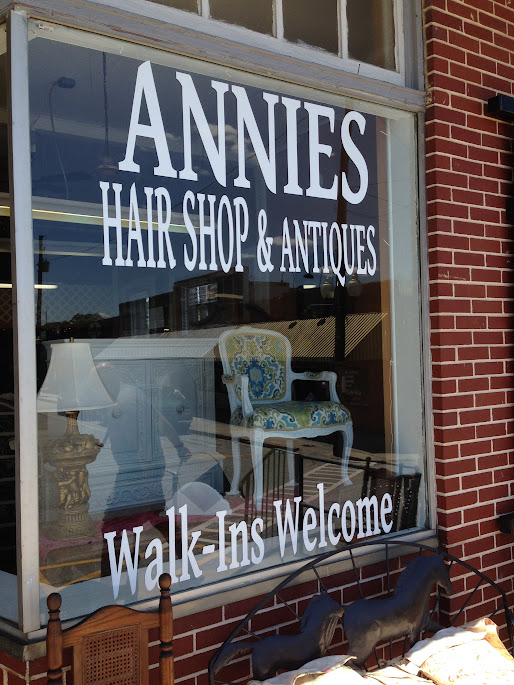 villa rica, ga antiques shop and hair salon