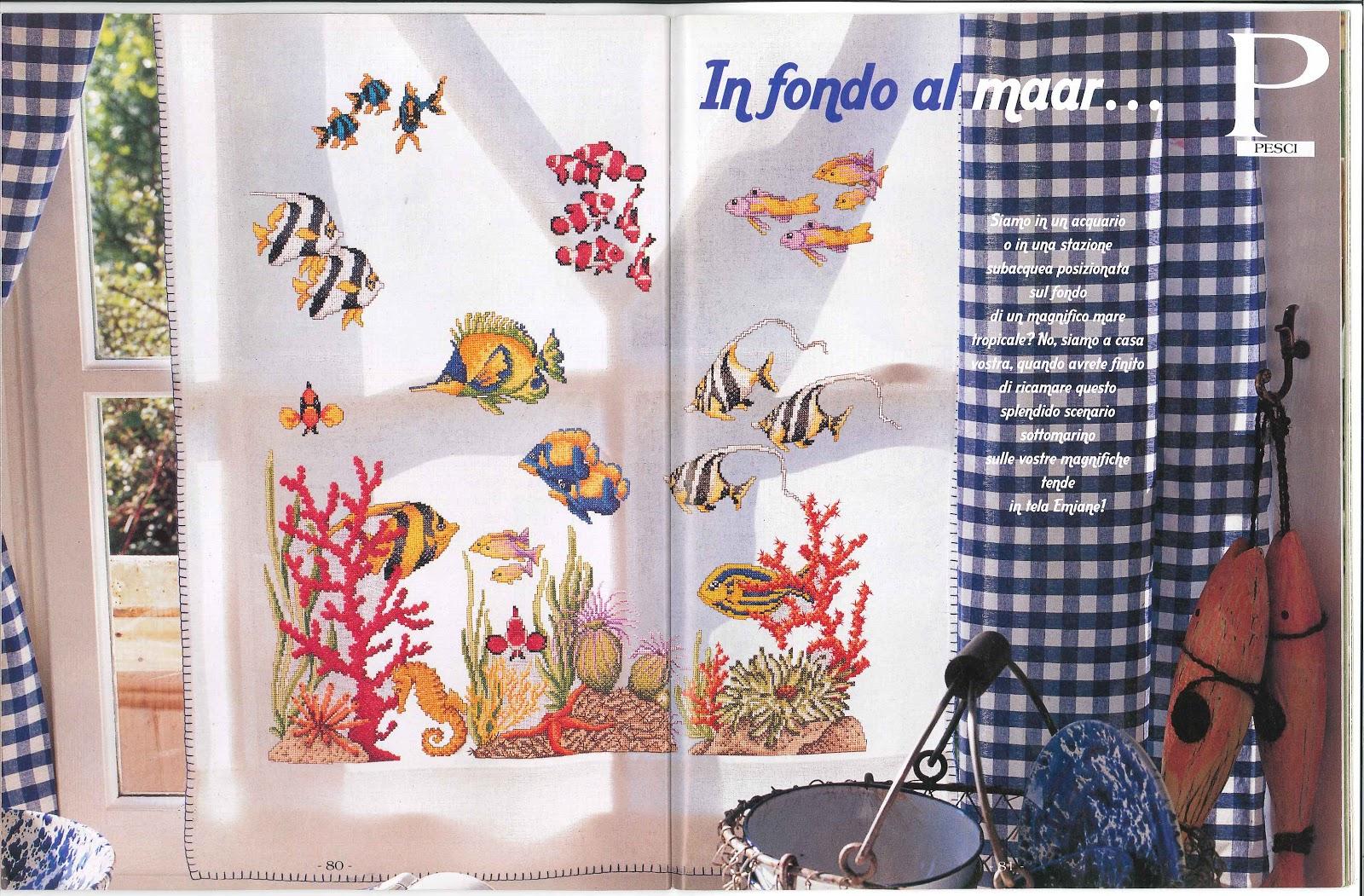 Idee Cucito Per Il Bagno : Nellastanzadiale: tendina per bagno acquario da le idee di susanna