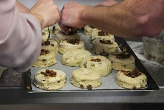 Flatford mince pie scones