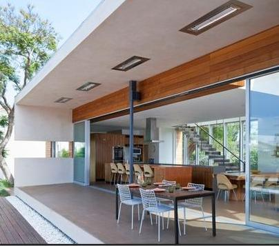 Fotos de terrazas terrazas y jardines terraza de casas - Fachadas para terrazas ...