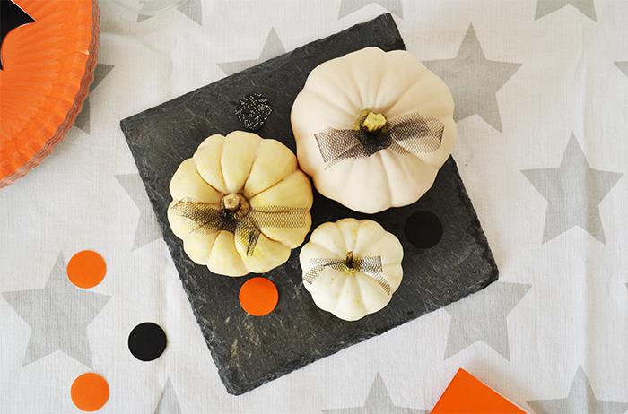 zucche di halloween semplici da decorare