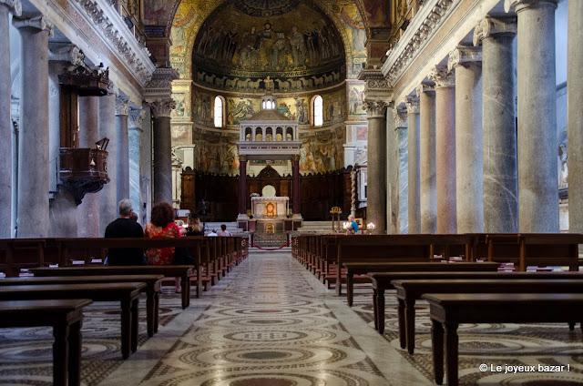 Rome - Trastevere - basilique