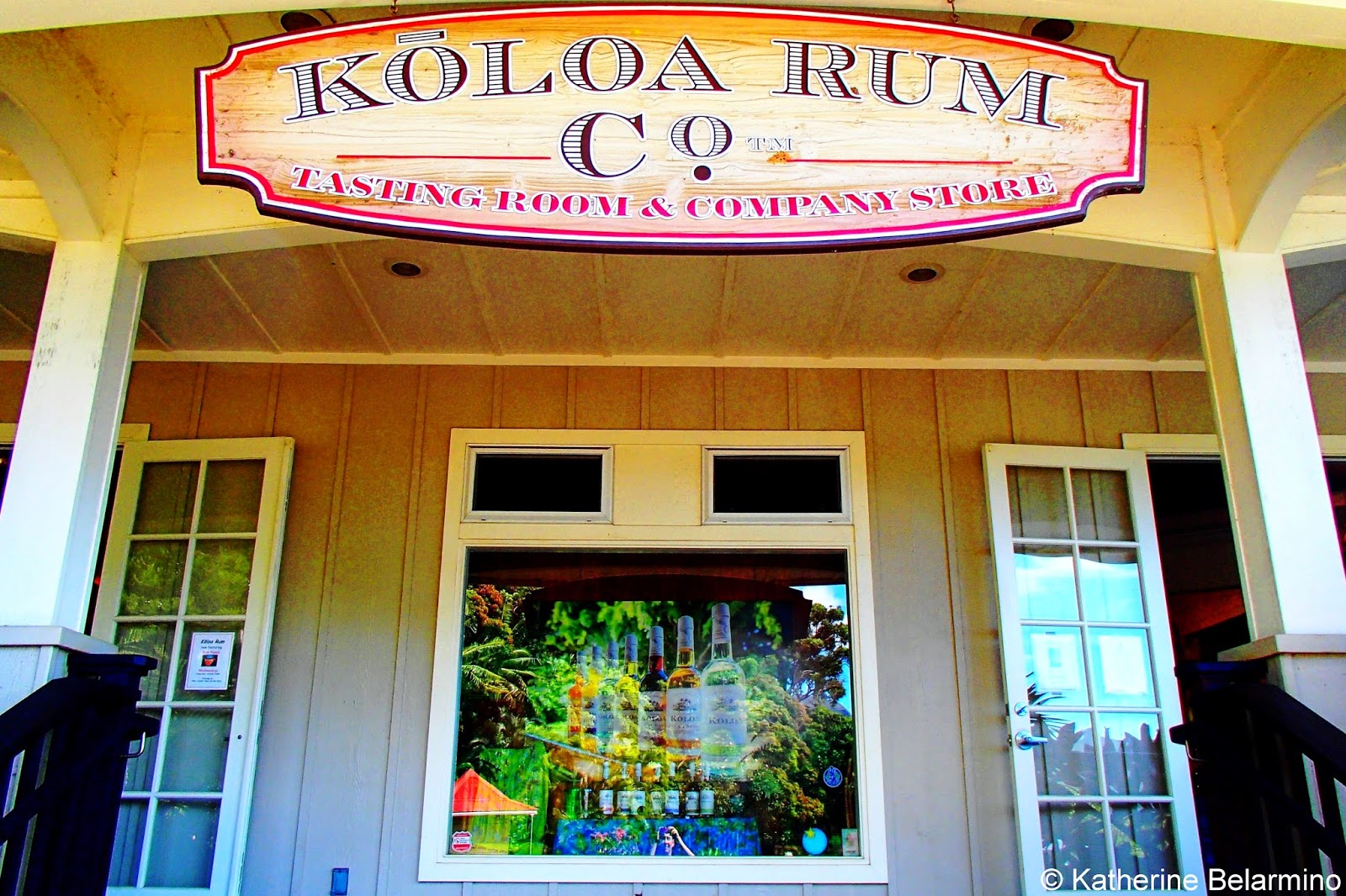 Koloa Rum Company Tasting Room & Company Store Kauai Hawaii
