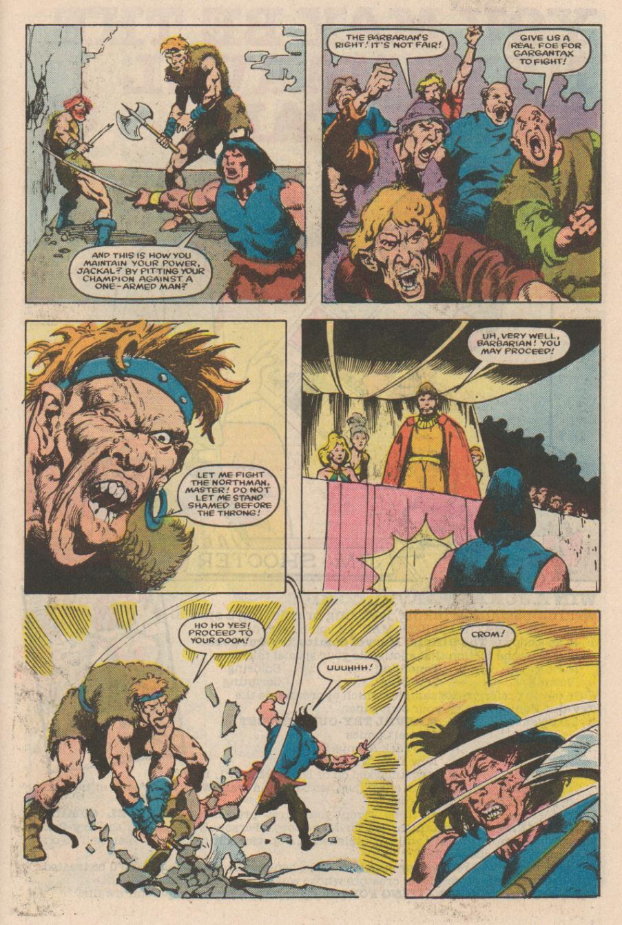 Conan the Barbarian (1970) Issue #166 #178 - English 20