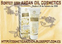 """Sorteo de """"Cosmetica en Accion"""" y Argan Oil Cosmetics"""