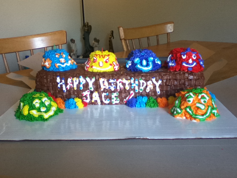 Free Cakes For Kids Killeen Our 7th Cake Monsters For Jace