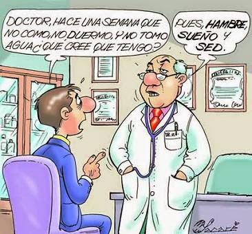 Chiste de Médicos