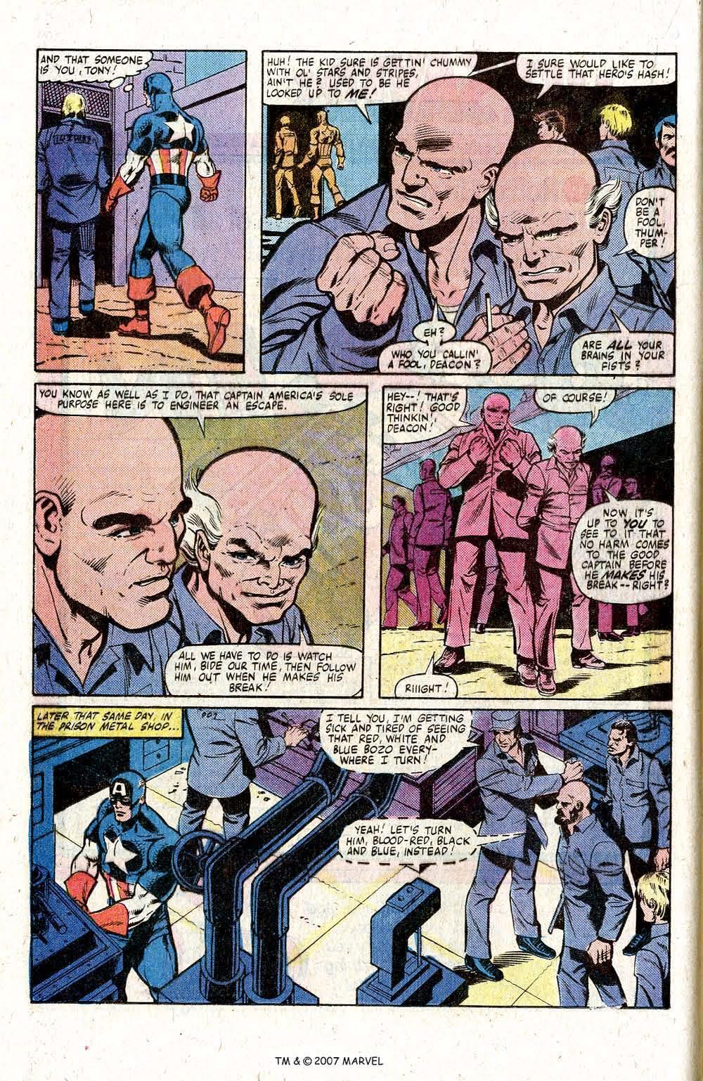 Captain America (1968) Issue #260 #175 - English 16