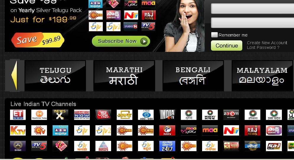 Download Yupptv Application