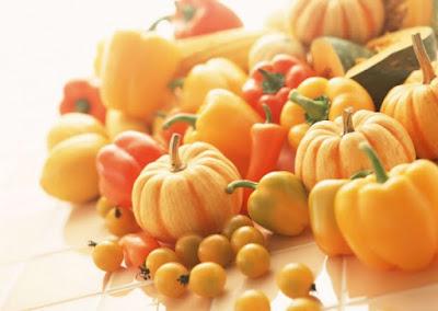 Colores Alimentación Naranja - Amarillo