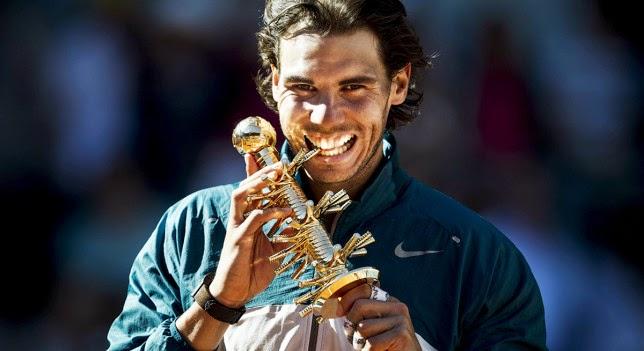 Nadal fue campeón del Mutua Open de Madrid 2013