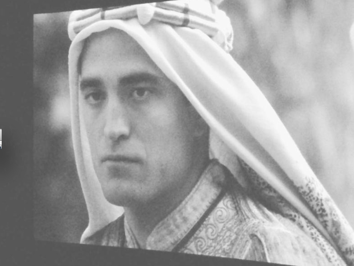 An oddity: Lawrence Al-Arab , a Syrian TV series starring Jihad Saad ... Robert Pattinson