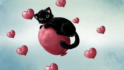 Black Cat Full of Love