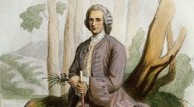 Jean-Jacques Rousseau Portrait