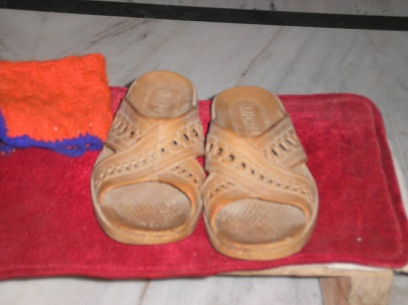 The Sandals of Swami Bon