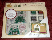 I won this lovely stamp set @ Crafty Hazelnut!