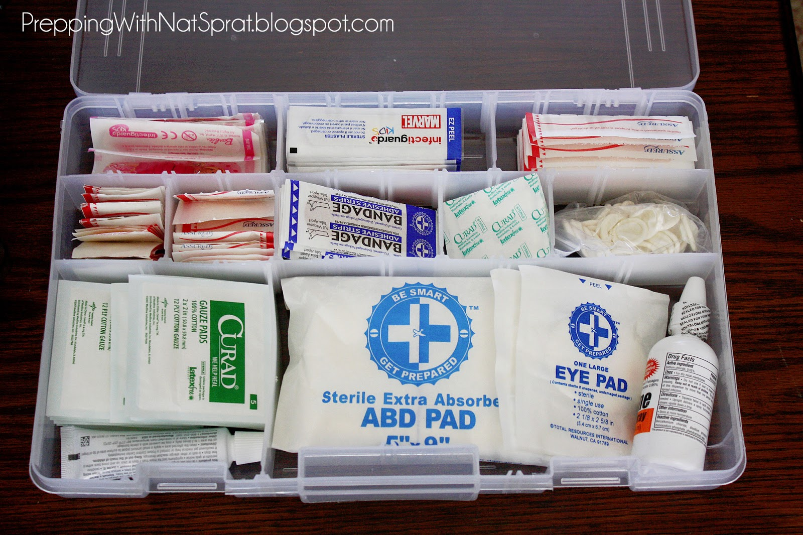 What to put in a first aid kit for babysitting jobs