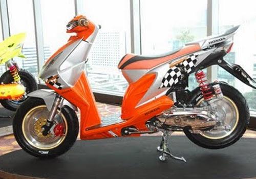 Itulah beberapa Gambar Modifikasi Motor Honda Beat yang bisa kami