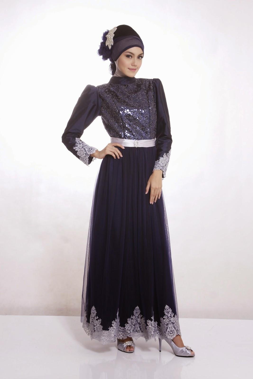 Dress mulimah modern untuk pesta