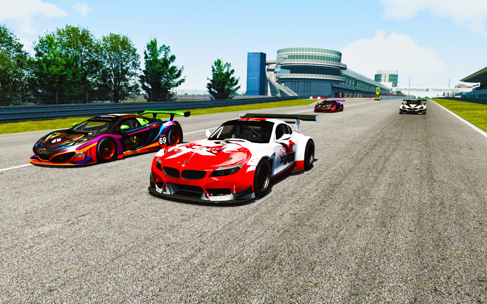 Sim Race South Africa, SA simGT.  Round 2, Nurburg Ring