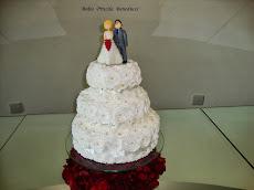 Bolo Casamento Chantilly