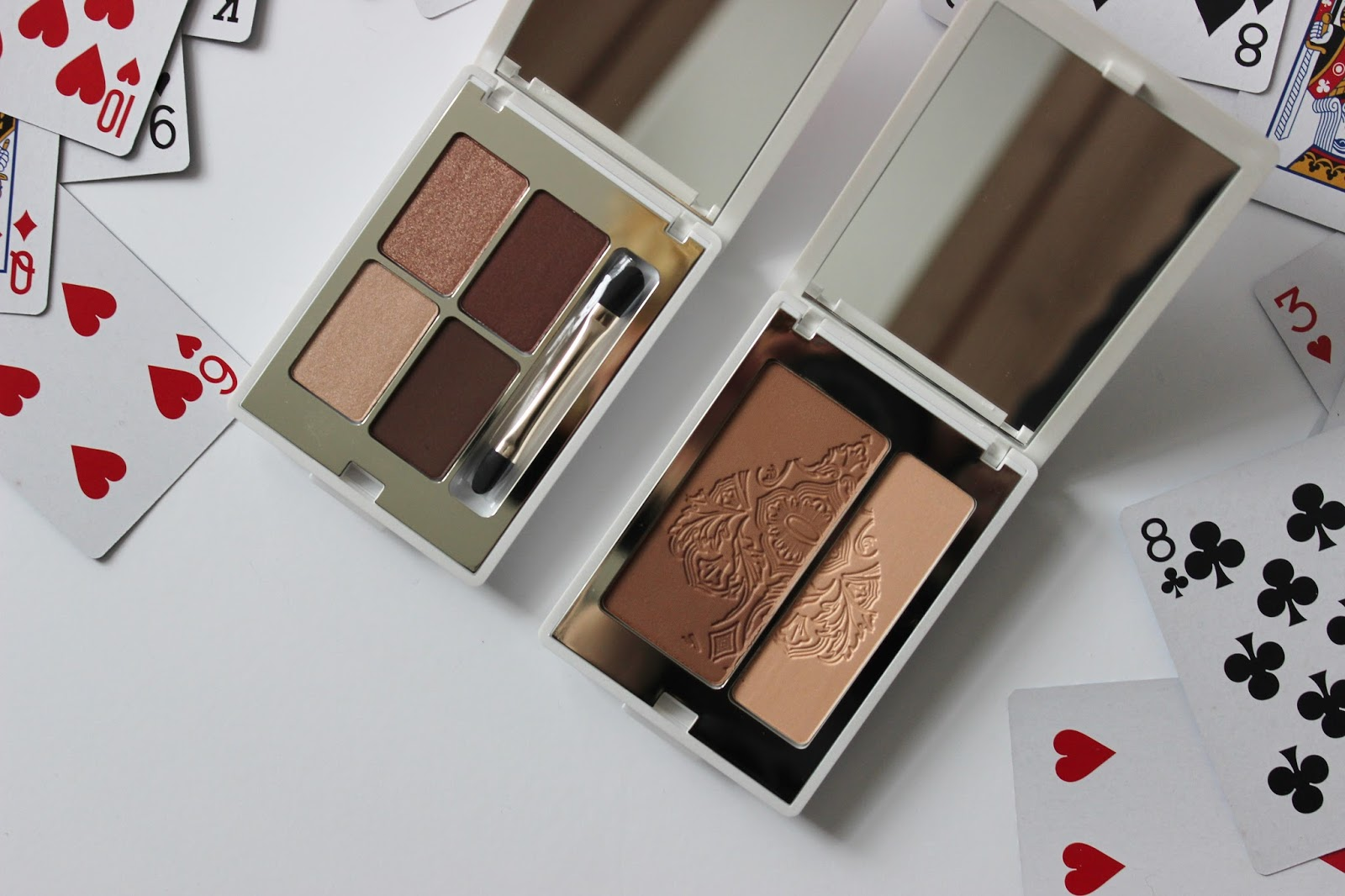 Kiko Daring Game collection packaging eye shadow palette and bronzer duo