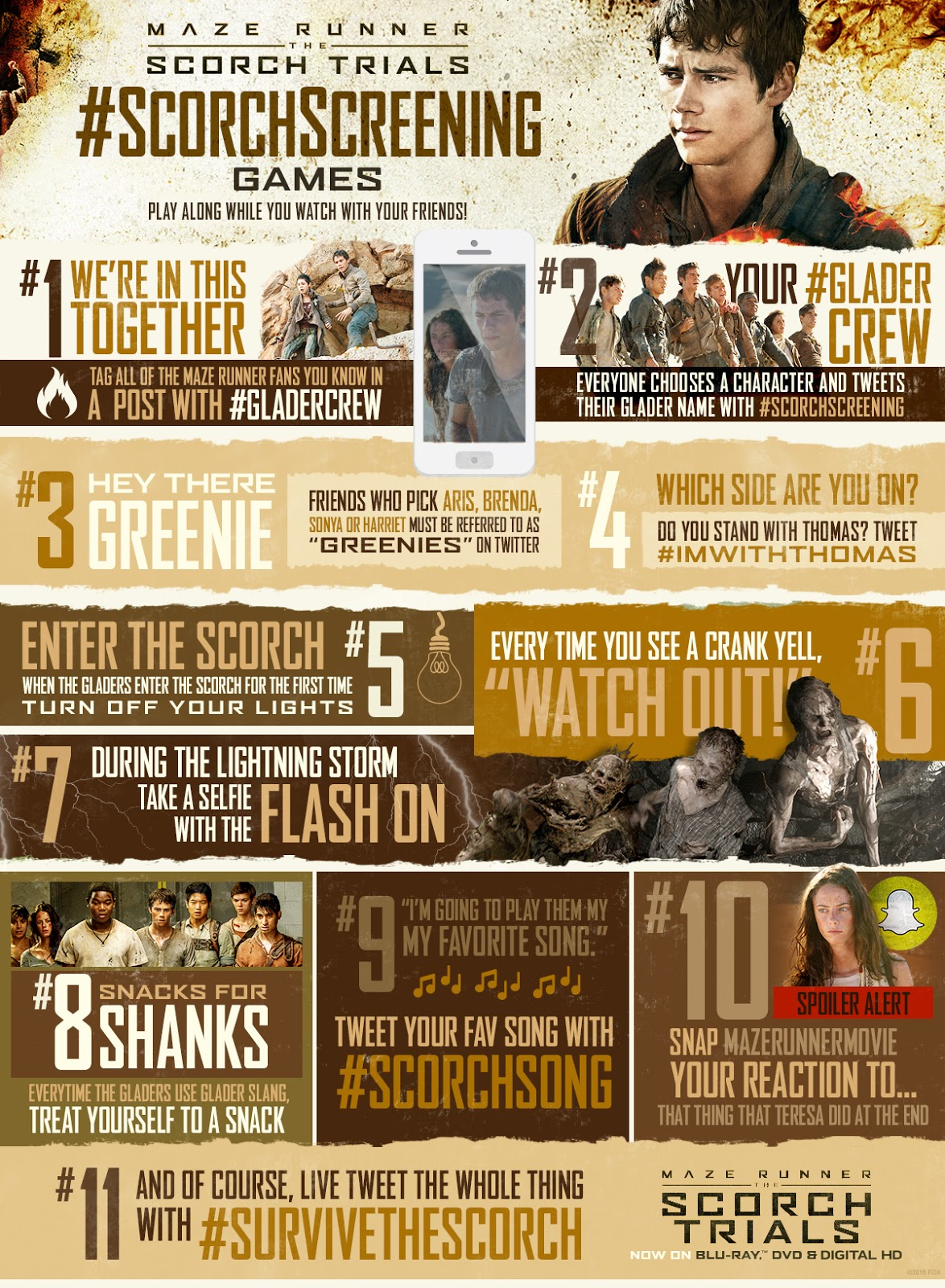 Maze Runner: The Scorch Trials {giveaway}