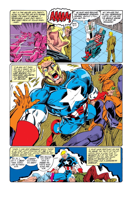 Captain America (1968) Issue #382 #315 - English 22