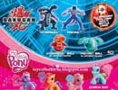 McDonald?s com brindes do Bakugan e My Little Pony