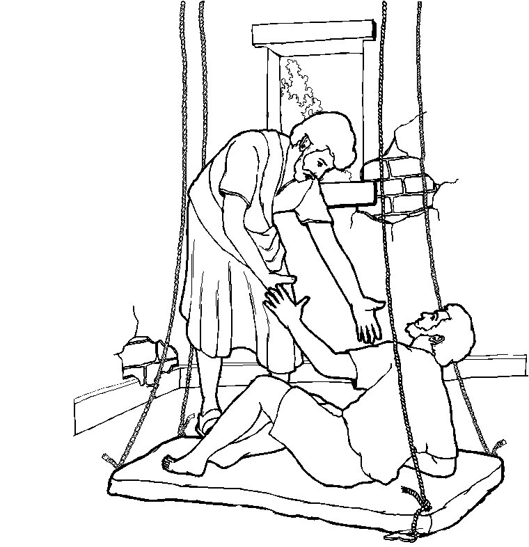 coloring pages luke 7 - photo#3