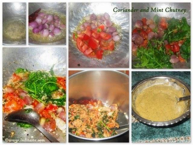 How to make Coriander and Mint Chutney