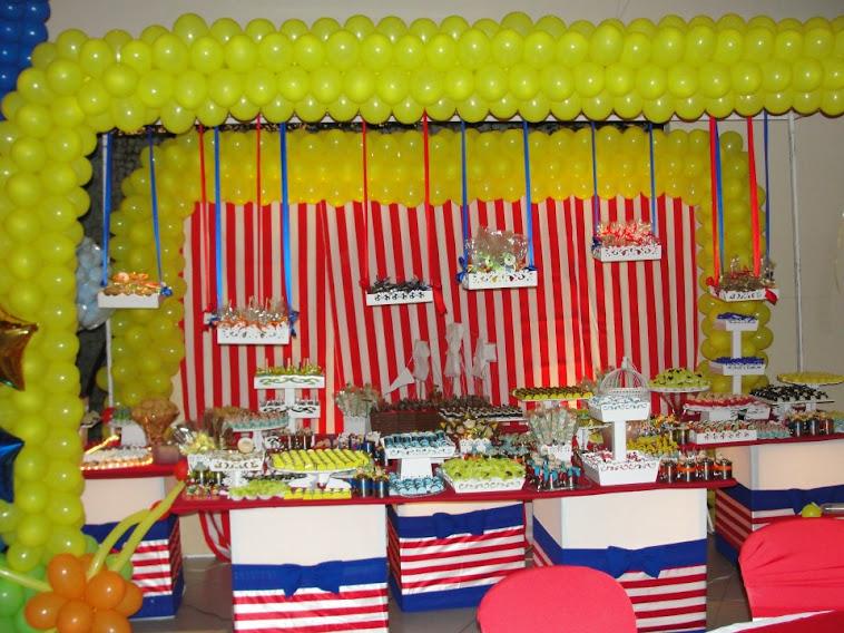 mesa de doces Pinóquio