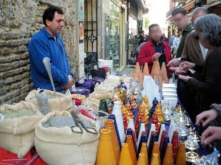 Sevilla - Puesto callejero de venta de incienso