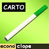 Ecigarette electronique Carto
