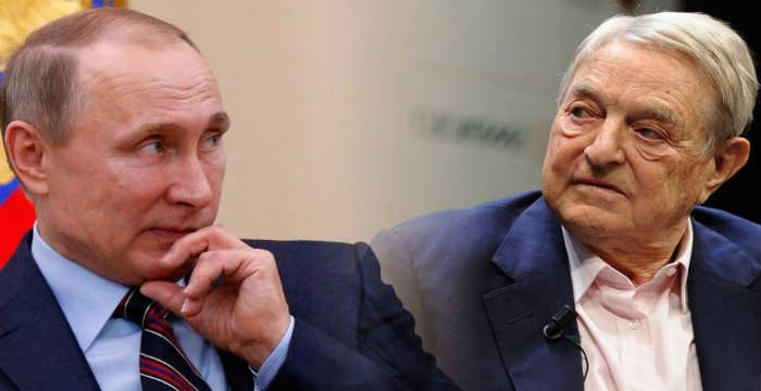 Σφοδρή προσωπική επίθεση στον Σόρος από την Μόσχα