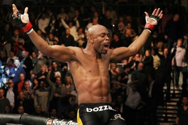 UFC anuncia retorno de Anderson Silva contra Bisping em fevereiro.