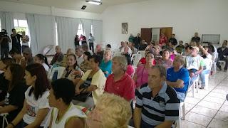 Demandas levantados pelos moradores no Salão paroquial da igreja de Santa Teresa
