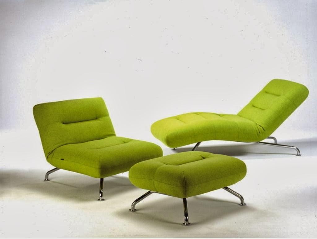 moderne canapé vert