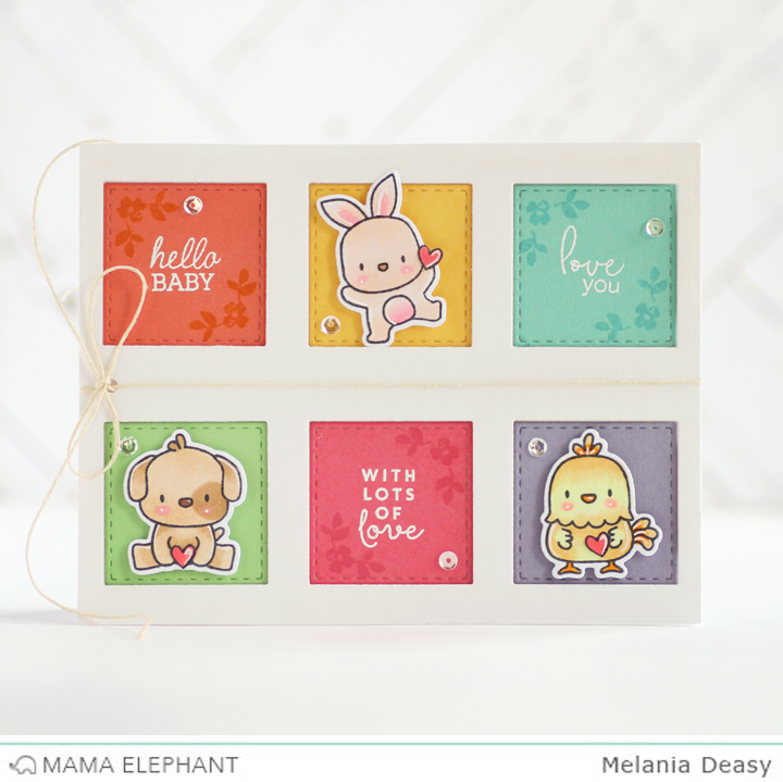 Hi All! Iu0027m Come Back Again With Mama Elephant Stamp Highlight Mini Messages.  This Set Is So Cute And Perfect For Any Occasion. This Time I Made A Card  For ...