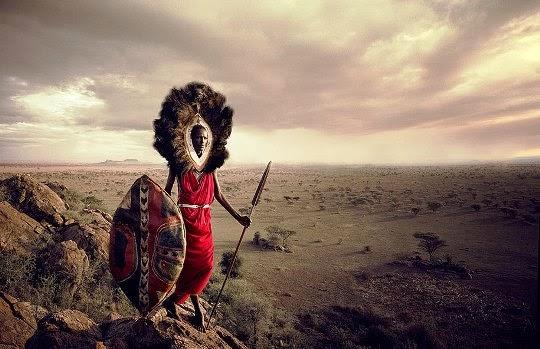 masái people o masáis Kenia Tanzania