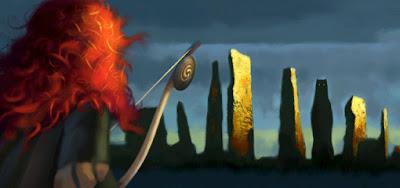 Brave Pixar 3d concept border=